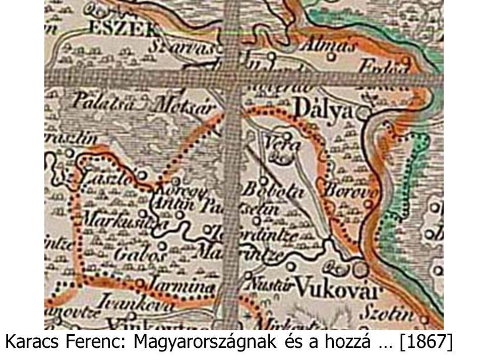 Karacs Ferenc: Magyarországnak és a hozzá … [1867]